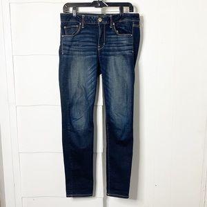 American Eagle super stretch dark wash skinny jean